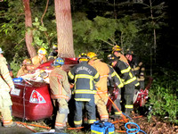 Working Rescue in Chestnut Ridge