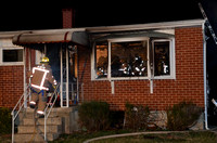 Woodlawn, MD House Fire - 1/15/12