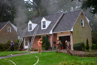 Pikesville House Fire on Windsor Road