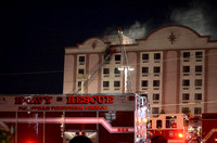 4-Alarm Fire at Days Inn Hotel in Westview