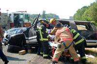 I-795 Rollover With Entrapment and Medevac