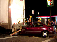 Car vs. Tractor Trailer in Pikesville, MD