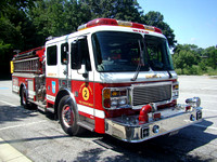 Baltimore County (MD) Fire Dept. Engine 22001 ALF Eagle 1500 GPM/500GWTex-demo unit for Chicago FD
