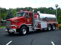 Flanders Fire District Tanker 7942006 KME/Kenworth 1250GPM/3000GWT