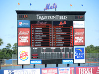 Mets vs Tigers - Pt. St. Lucie Spring Training 3/18/14
