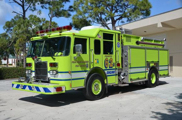 Firepix1075 Palm Beach Gardens Fire Rescue Engine 62
