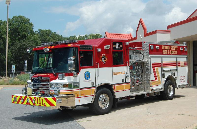Firepix1075 Howard County Md Fire Apparatus Howard