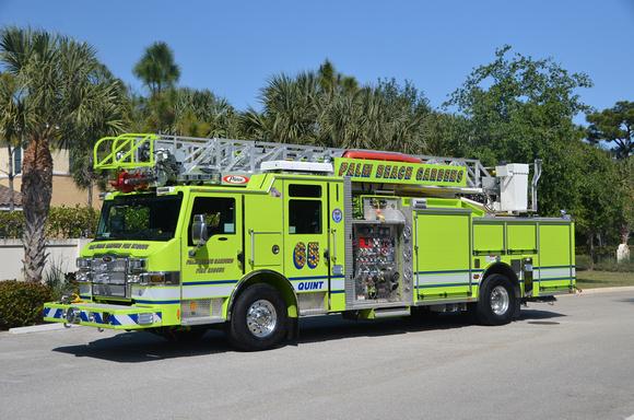 Firepix1075 Palm Beach Gardens Fire Rescue Quint 65