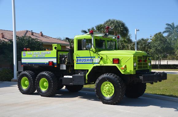 Firepix1075 Palm Beach Gardens Fire Rescue Brush 65