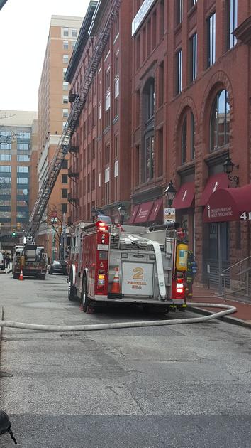 Firepix1075 West Redwood Street Building Fire 3 11 16