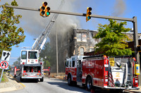 East Fayette Street 2nd Alarm October 5, 2014
