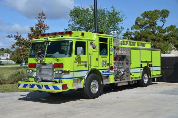 Firepix1075 Palm Beach Gardens Fire Rescue Engine 63