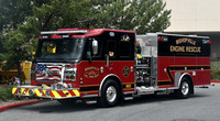Bishopville Volunteer Fire Department Rescue Engine 9
