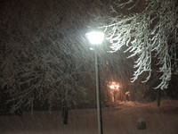 Snowstorm in Pikesville - February 14, 2014